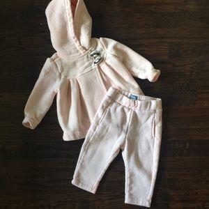 Baby Gap Pink Sweatsuit